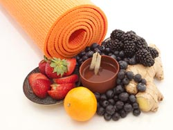 mat and yoga nutrition